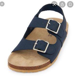 Children's Place Blue Velcro sandals 6-12 month
